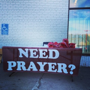 Prayer Tables: Crisis Response