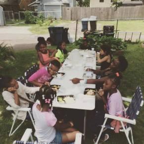 Sharing Meals & ladies Bible Studies w/ Miah