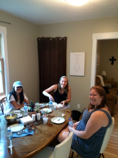 Our first Breakfast at 810 with the crew from TCUP (Intervarsity)
