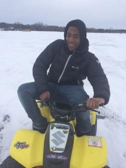 Mini 4 Wheeler: 1st Ride