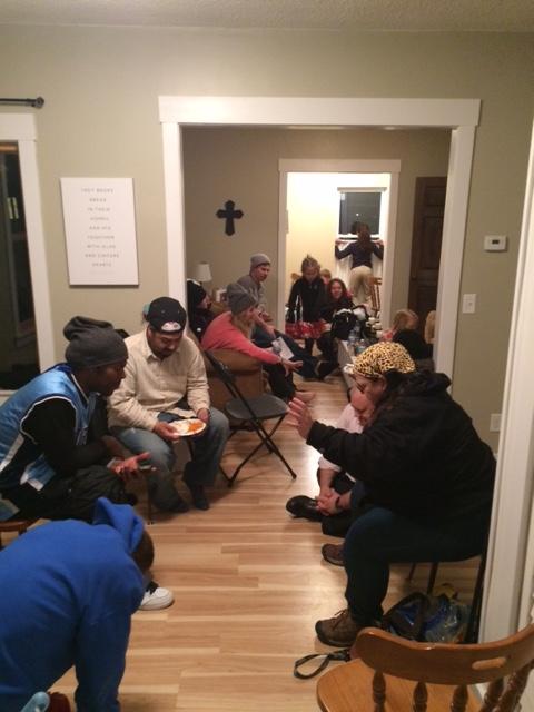 prayer and fellowship afterward