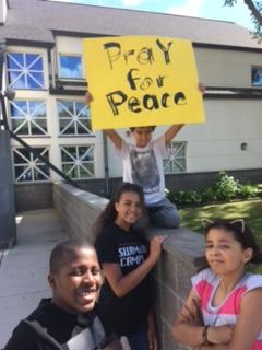 Praying for peace: Regular Fasting, intercession, prayer