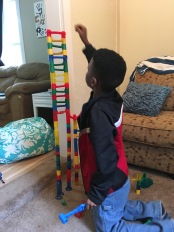 Marble run is a great game to build something together and learn about what's at the foundation matters if you want to grow big.