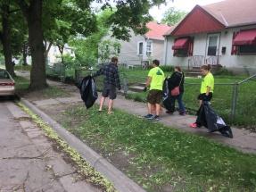 Neighbors led teams out